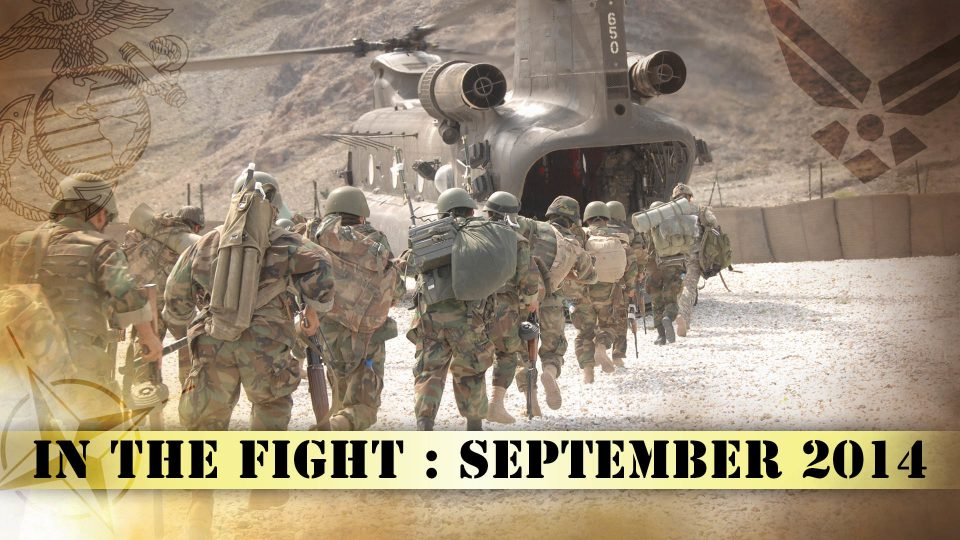 In The Fight – September 2014