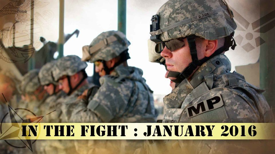 In The Fight – January 2016