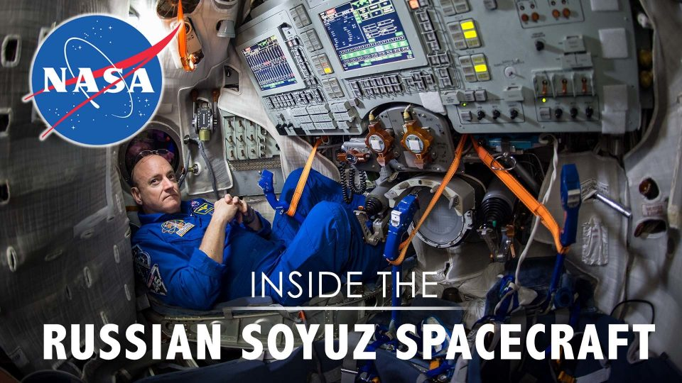 Inside The Russian Soyuz Spacecraft