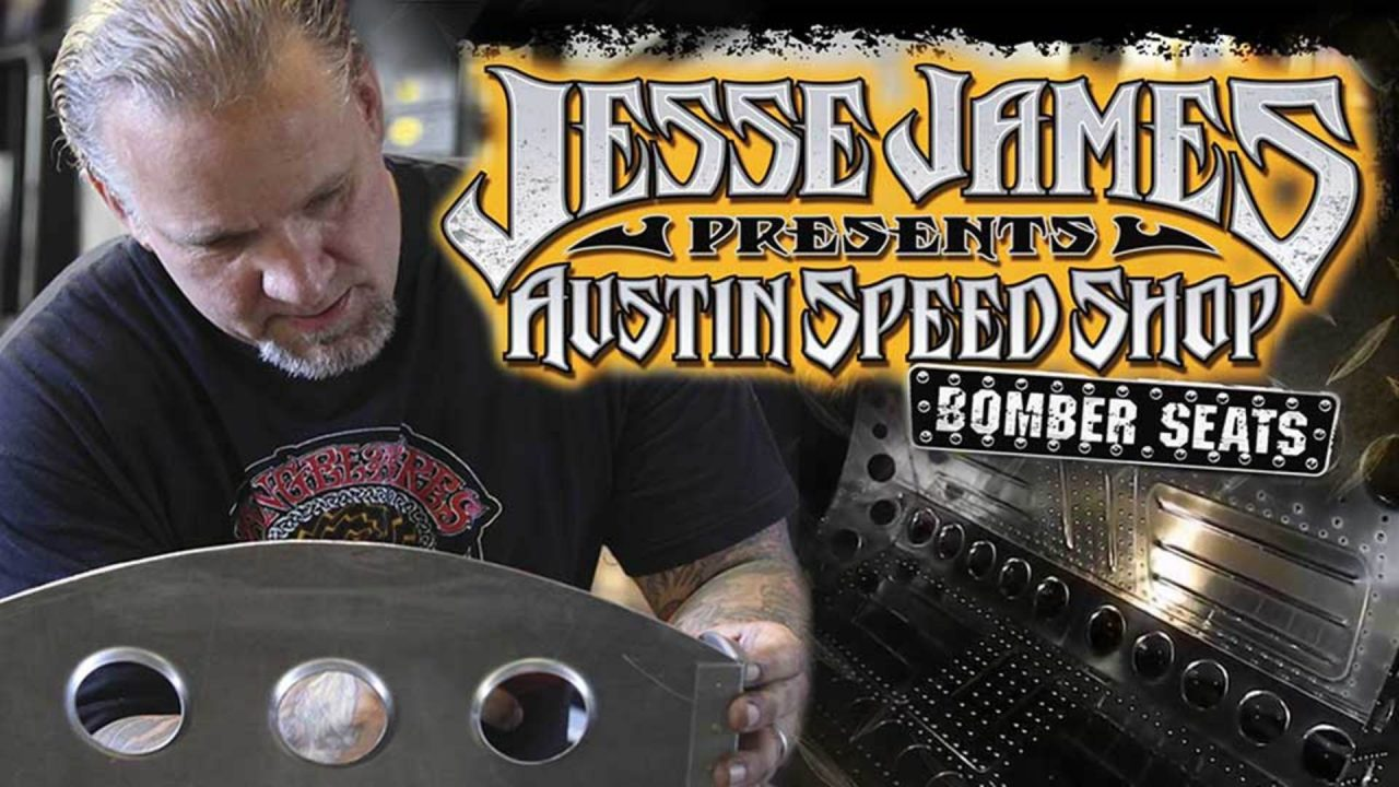 Jesse James: Austin Speed Shop – Bomber Seats