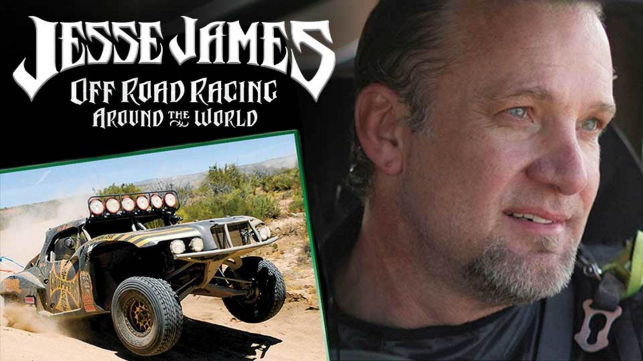 Jesse James: Off Road Racing Trailer