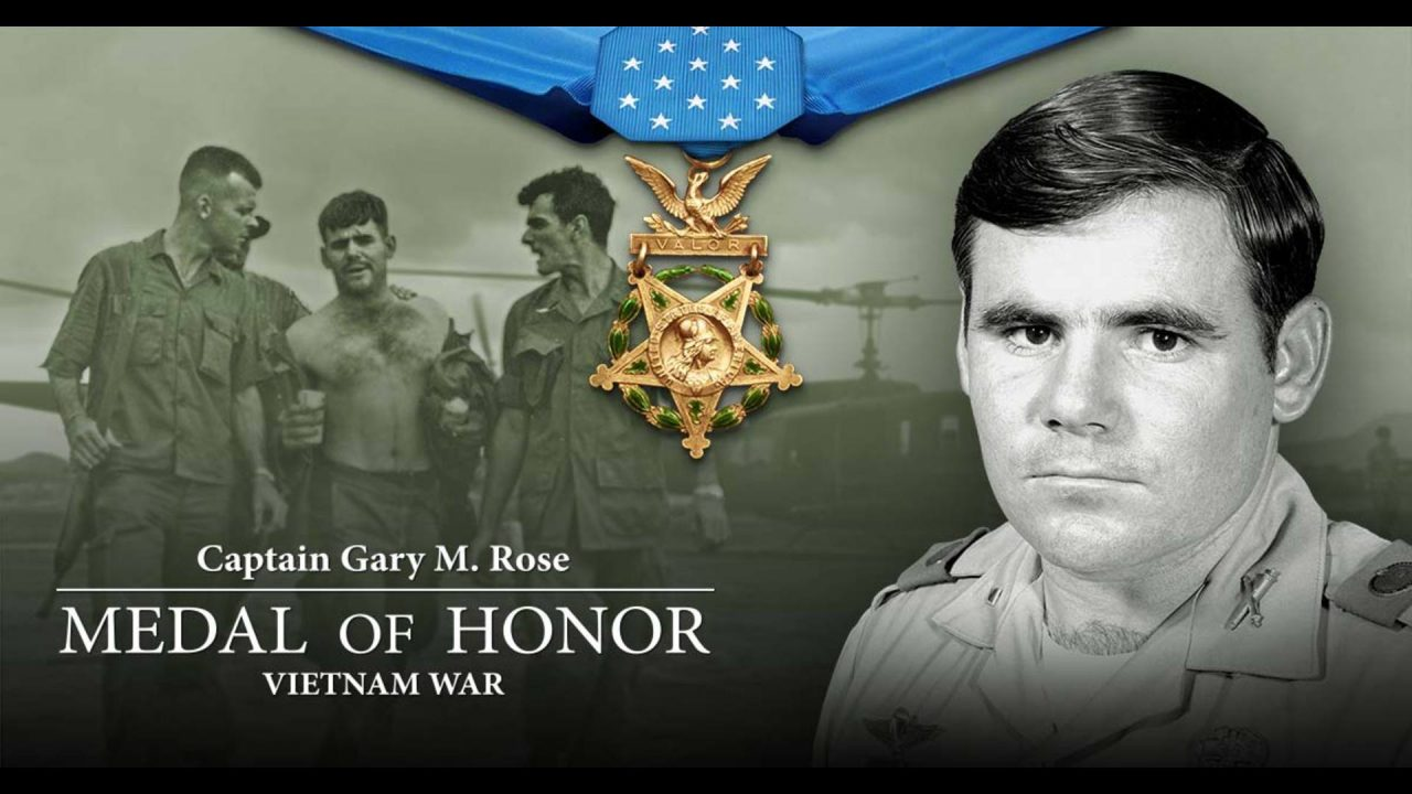 Medal Of Honor Ceremony: Capt. Gary Rose