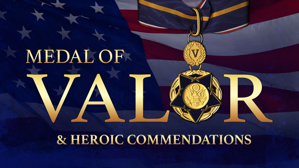 Medal of Valor and Heroic Commendations to Dayton, Ohio Law Enforcement and Citizen Heroes in El Paso, Texas