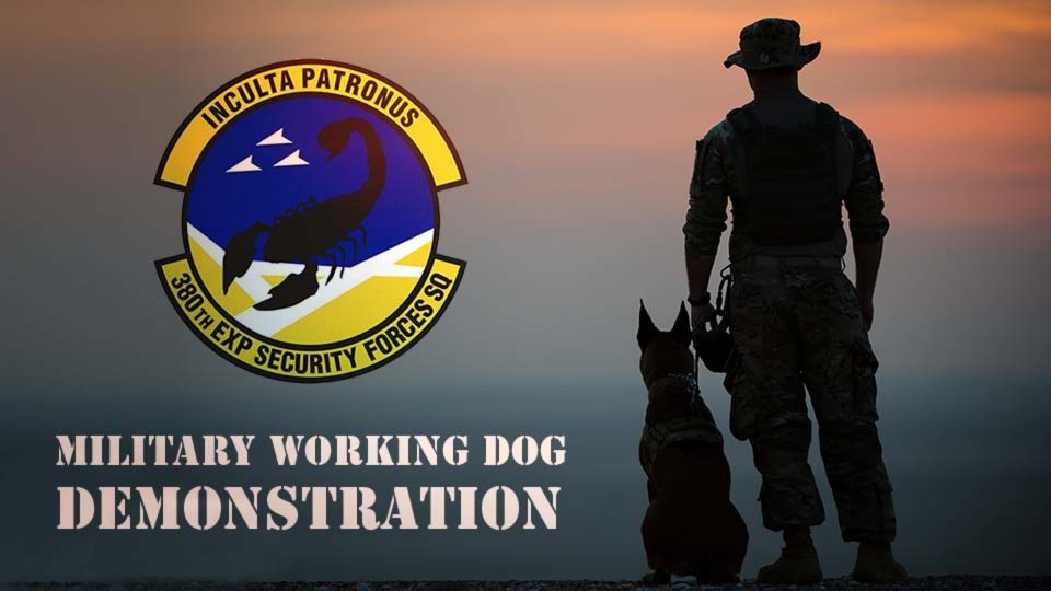 Military Working Dog Demonstration