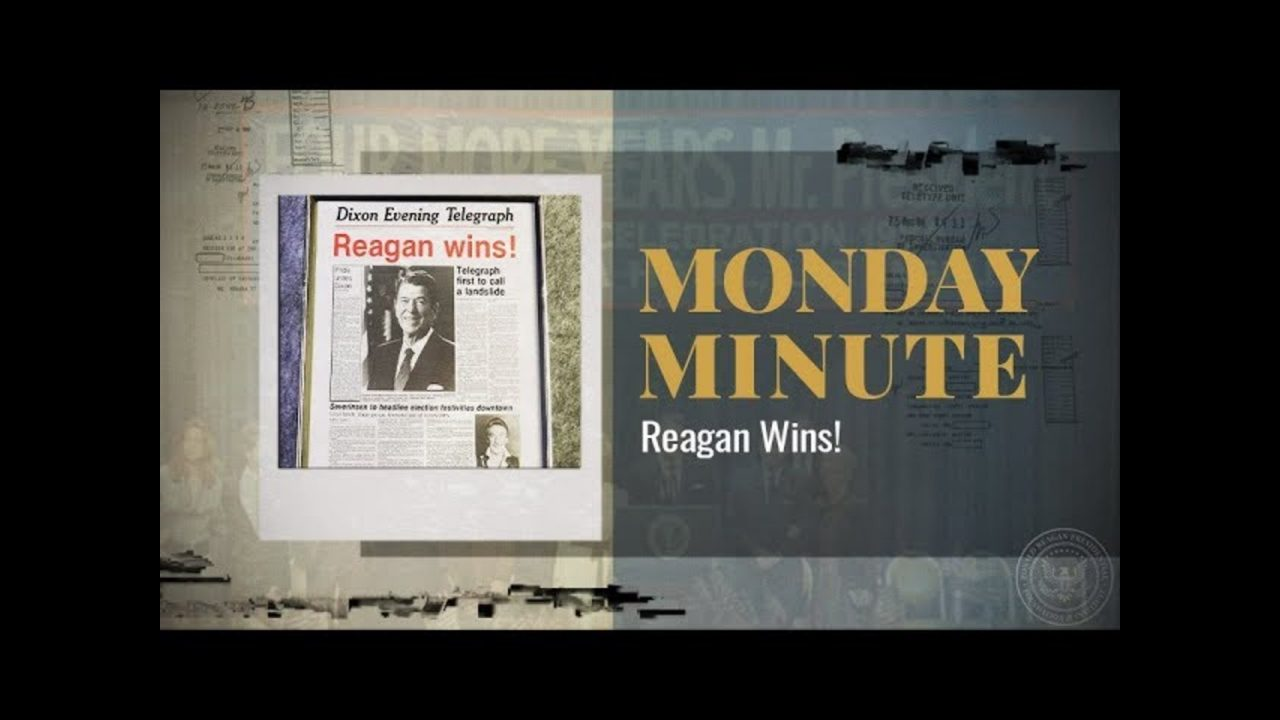 Monday Minute Ep. 45 (Season 2) — Reagan Wins!