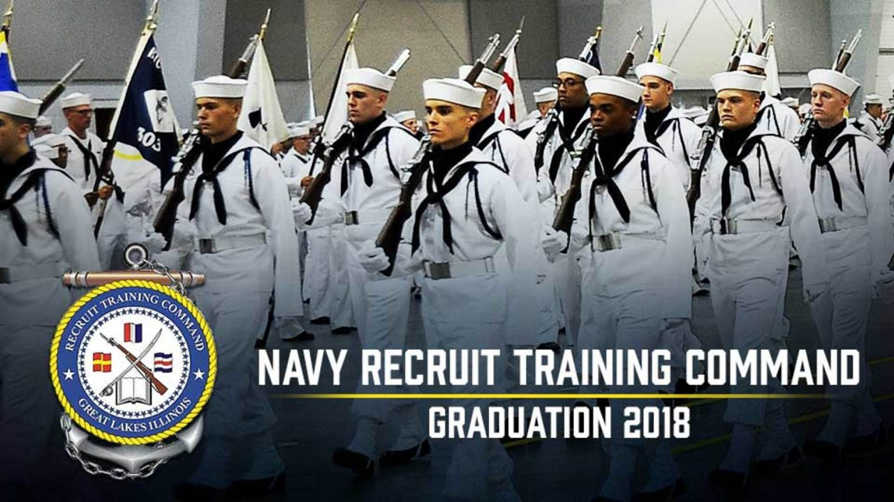 Navy Recruit Training Command Graduation 2018