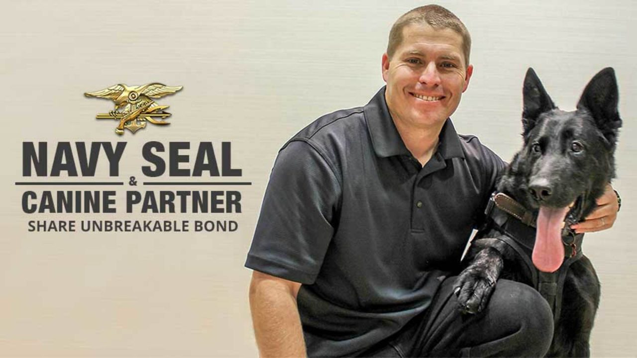 Navy SEAL And Canine Partner Share Unbreakable Bond