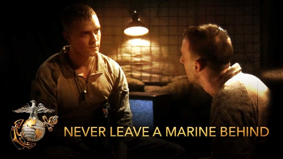 Never Leave A Marine Behind