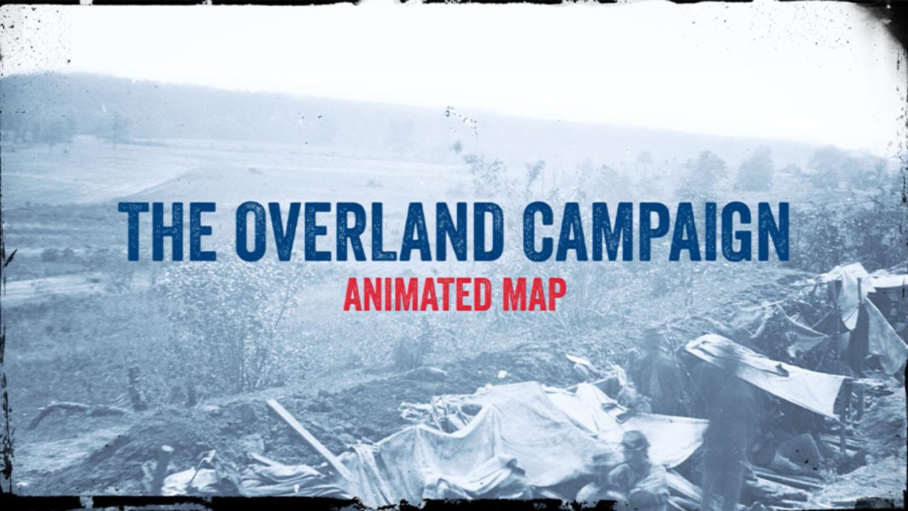 Overland Campaign Animated Map