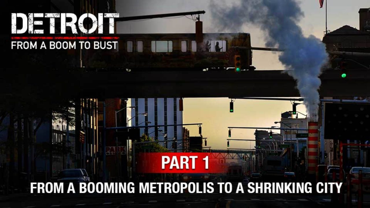 Part 1: How Detroit Went From A Booming Metropolis To A Shrinking City