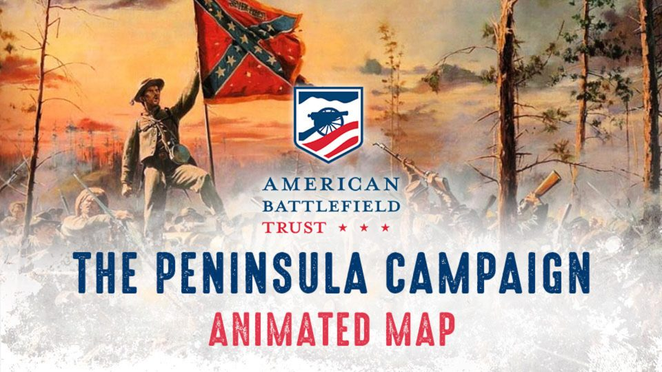 Peninsula Campaign Animated Map