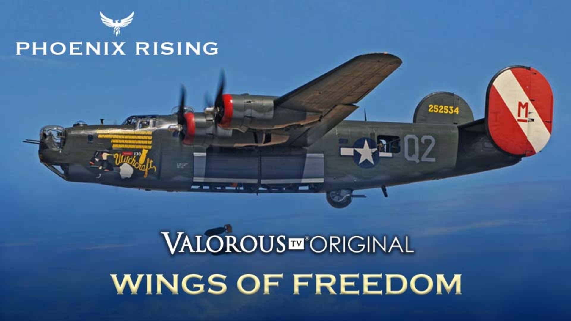 Air Force World War II documentary on Valorous TV heroic movies