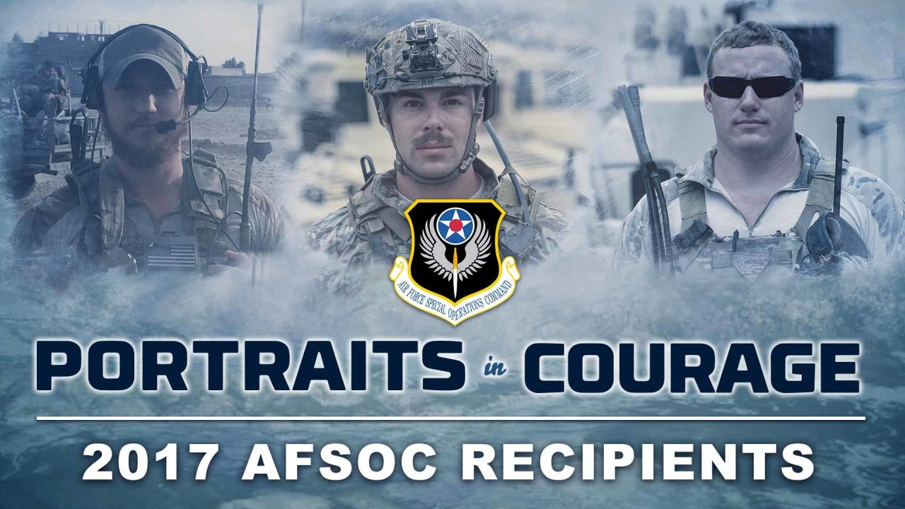Portraits In Courage – 2017 AFSOC Portraits In Courage Recipients
