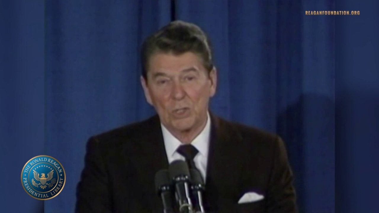 President Reagan's Remarks to Students & Faculty at Martin Luther King Jr. Elementary – 1/15/1986