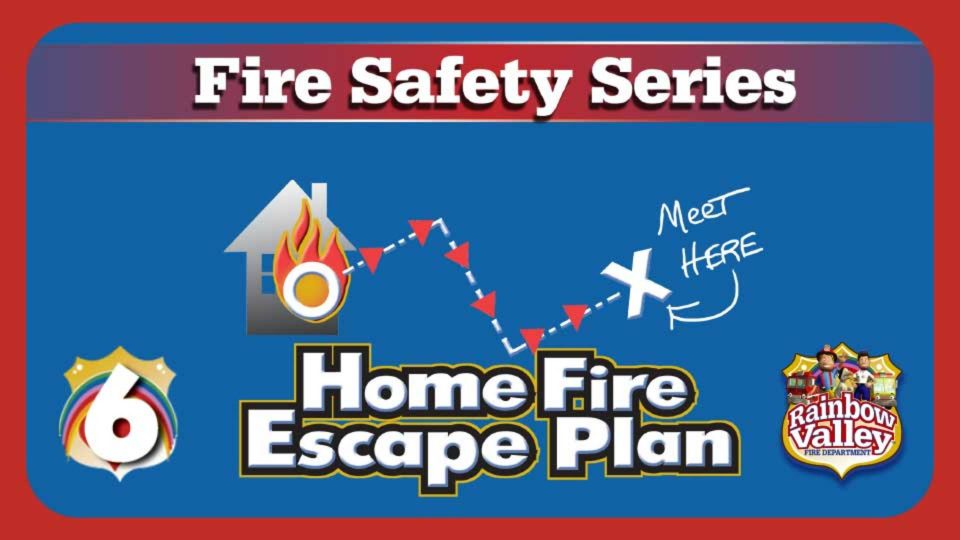 Rainbow Valley Fire Department – Episode 6: Home Fire Escape Plan