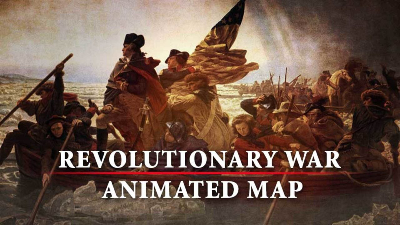 Revolutionary War Animated Map