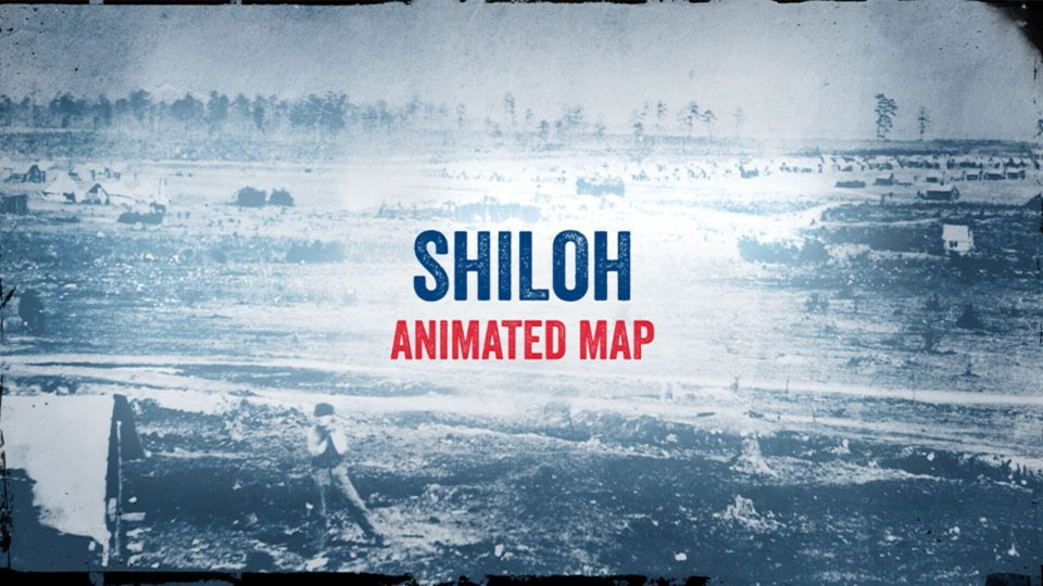Shiloh Animated Map