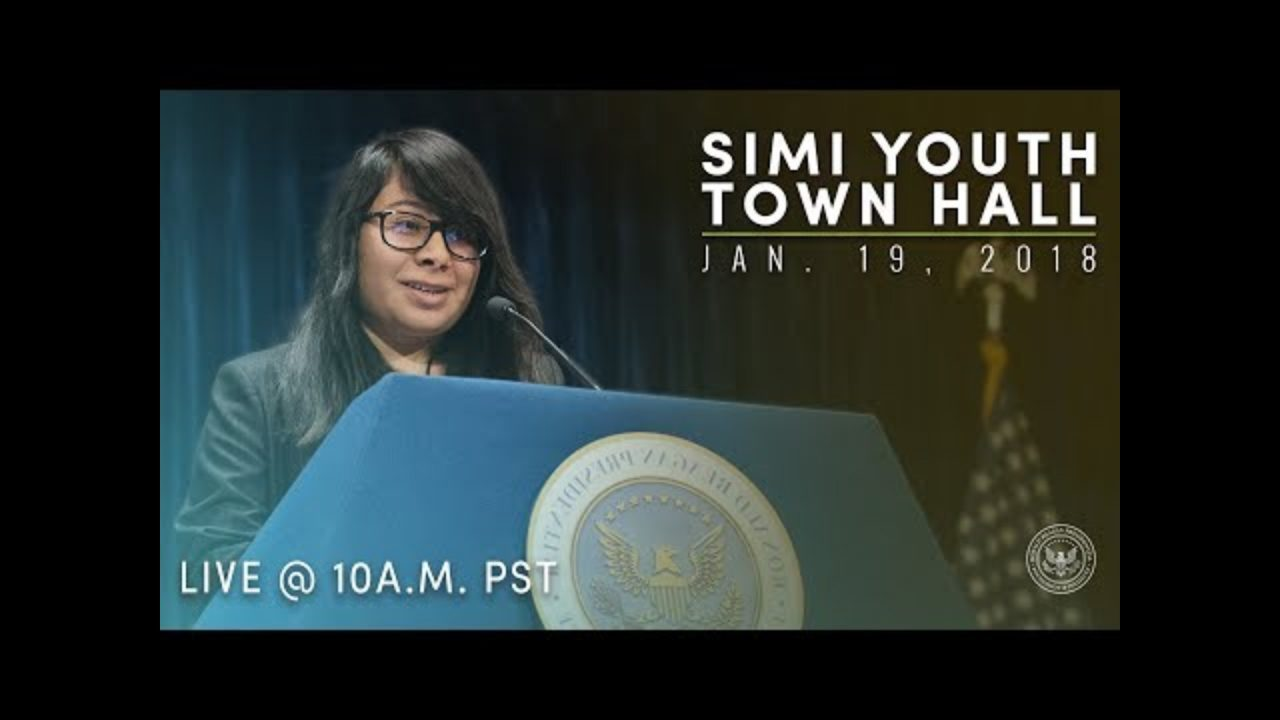 Simi Valley Youth Town Hall — 1/19/18