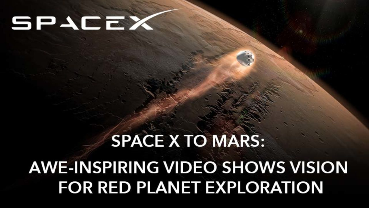 SpaceX To Mars: Vision for Red Planet Exploration