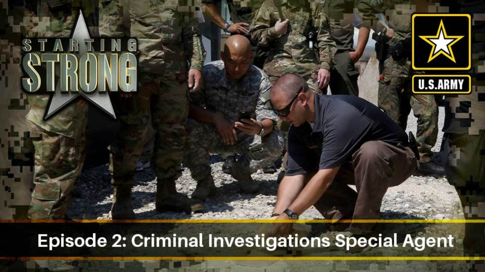 Starting Strong – Season 2 – Episode 2: Criminal Investigations Special Agent