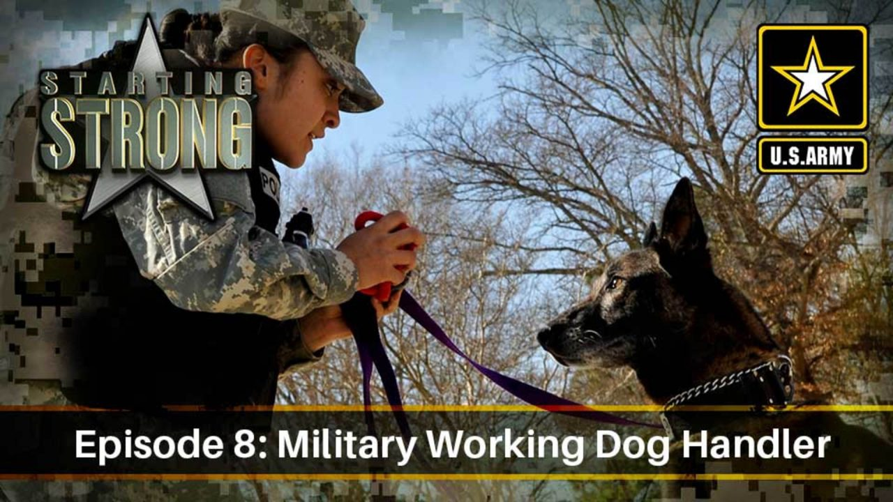 Starting Strong – Season 2 – Episode 8: Military Working Dog Handler
