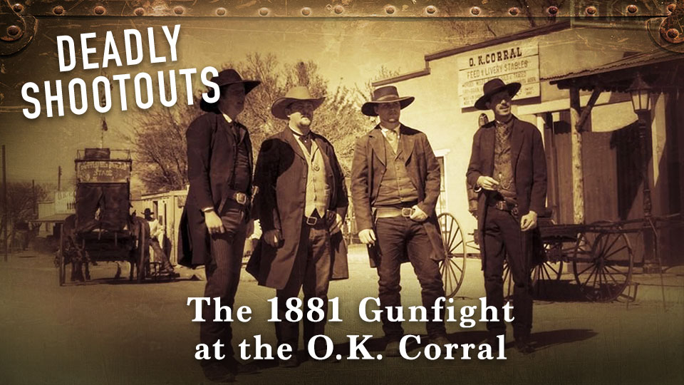 The 1881 Gunfight at the O.K. Corral