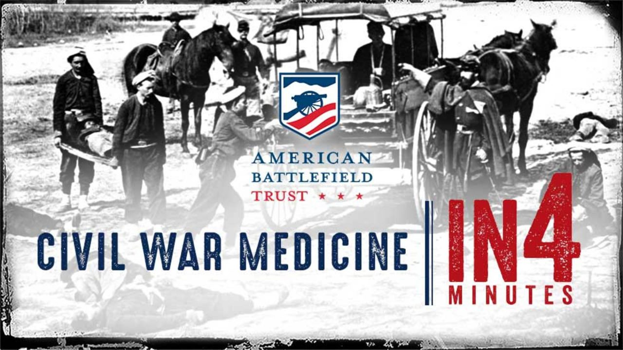The Civil War In Four Minutes: Civil War Medicine