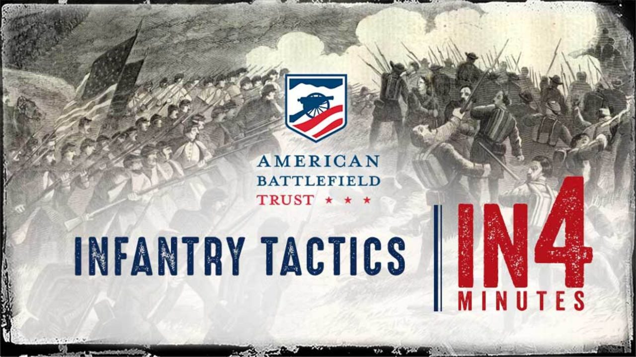 The Civil War In Four Minutes: Infantry Tactics