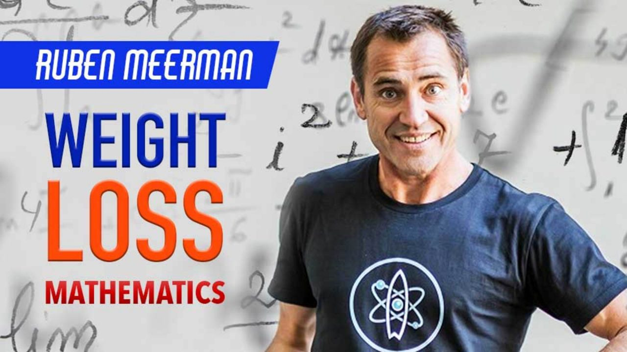 The mathematics of weight loss- Ruben Meerman