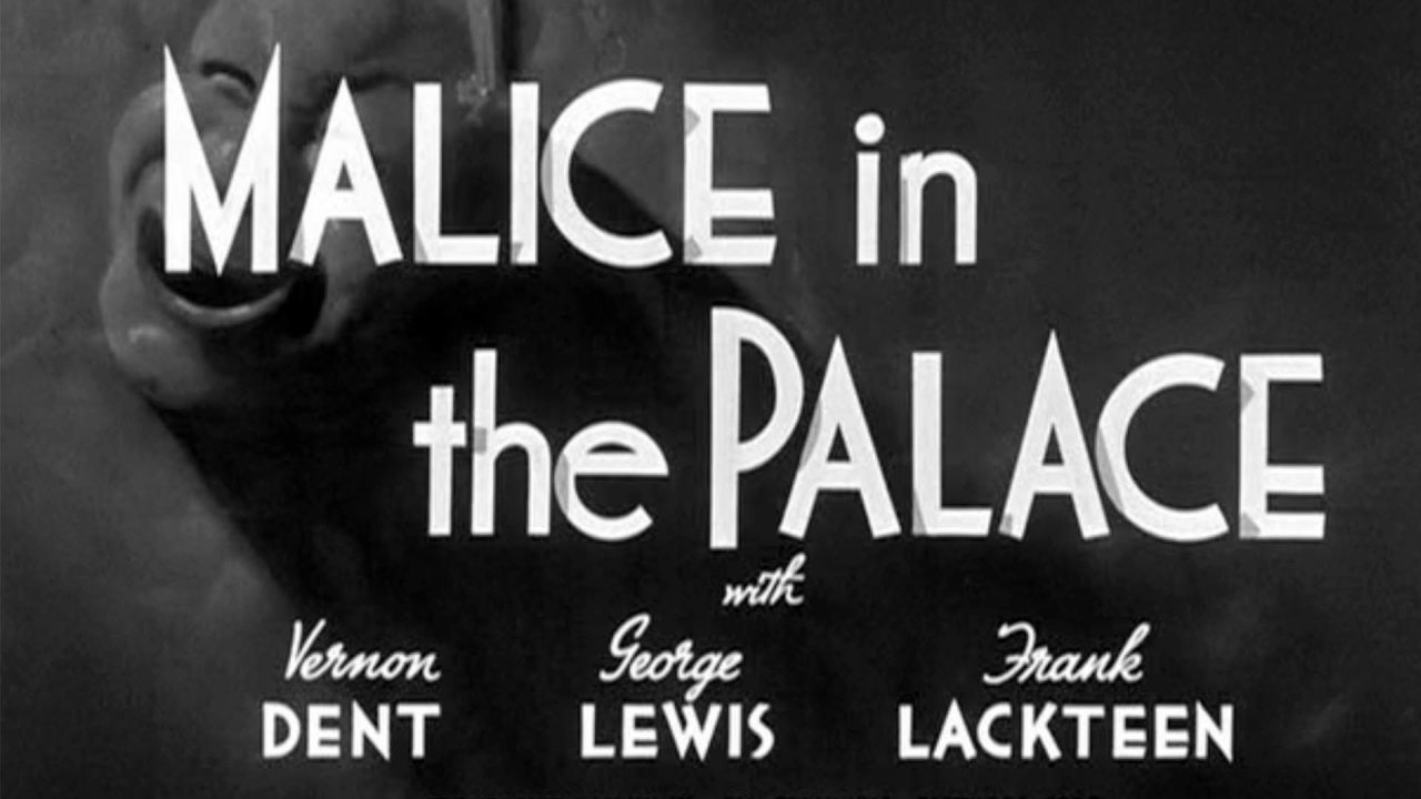 Malice In The Palace – The Three Stooges