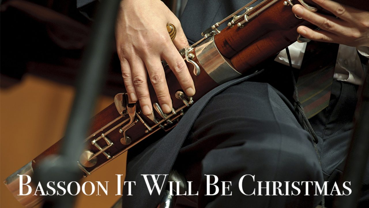 "U.S. Army Europe Band & Chorus ""Bassoon it will be Christmas"""