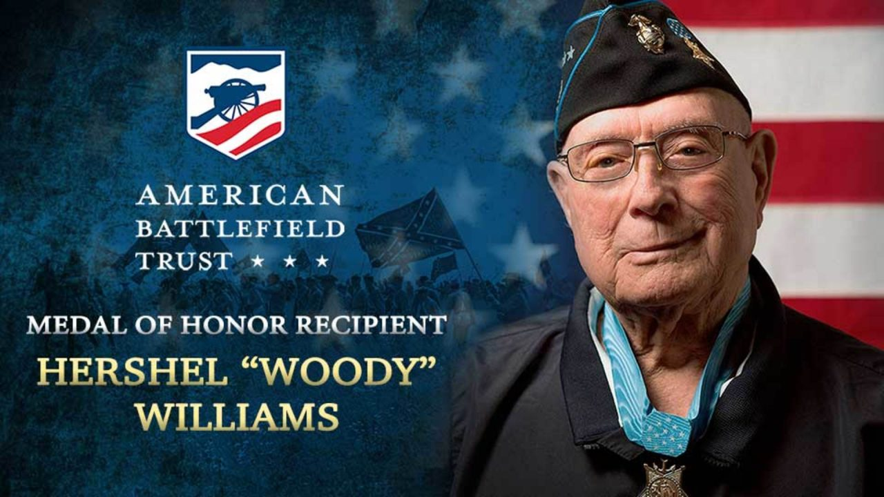 "Walk Gettysburg with Medal of Honor Recipient Hershel ""Woody"" Williams"