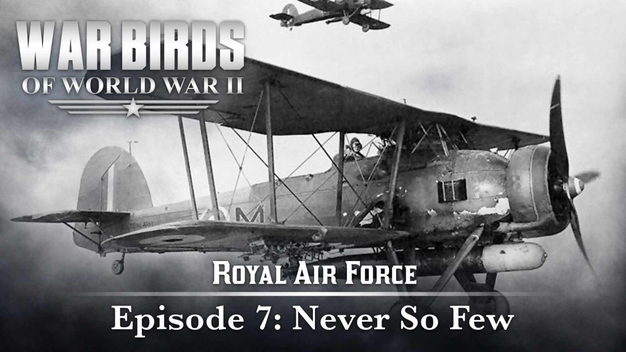 Warbirds Of World War II – Royal Air Force – Episode 7: Never So Few