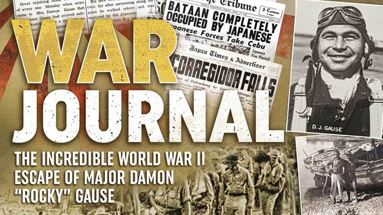 "War Journal: The Incredible World War II Escape of Major Damon ""Rocky"" Gause"