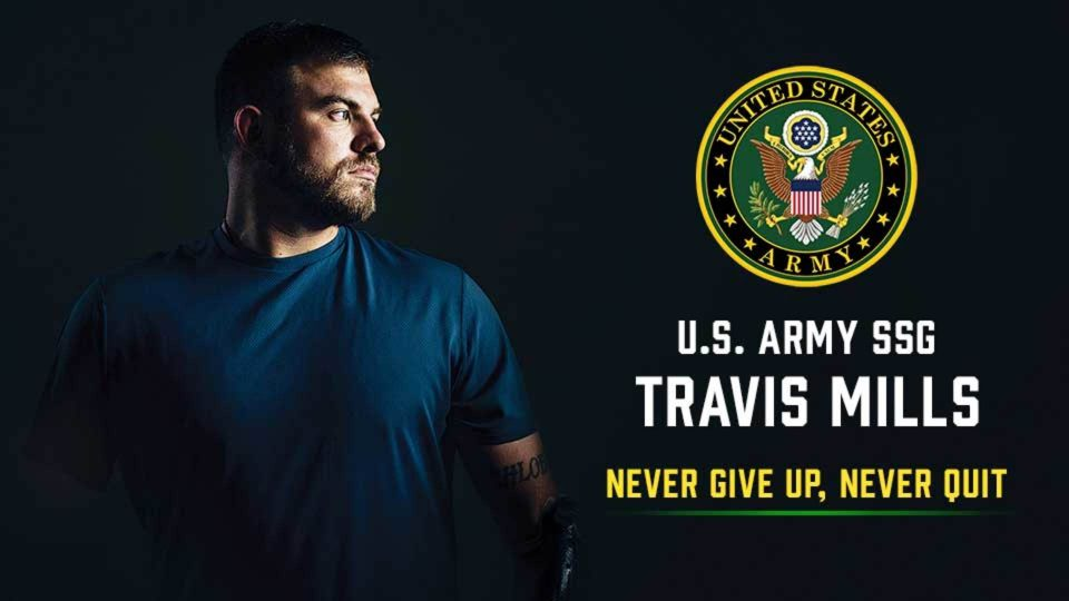 Watch The Inspirational Story Of U.S. Army SSG Travis Mills- Never Give Up, Never Quit