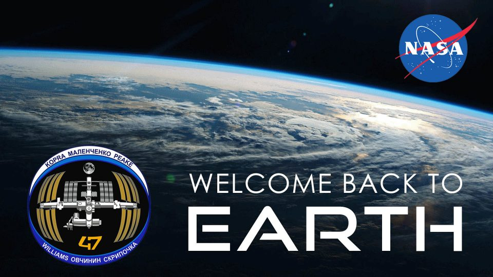 Welcome Back To Earth