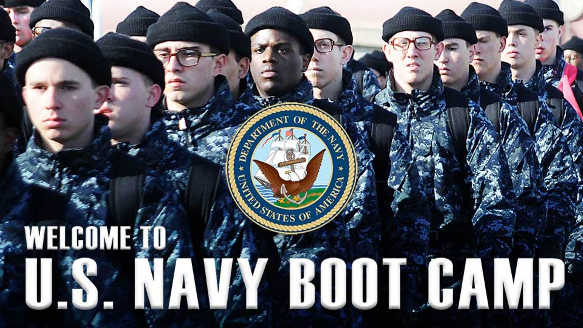 Welcome to U.S. Navy Boot Camp